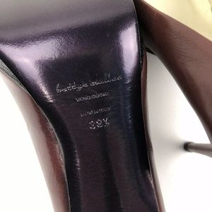 Michael Kors Shoes - Bettye Muller Italy Heels Vero Cuoio Leather 38.5